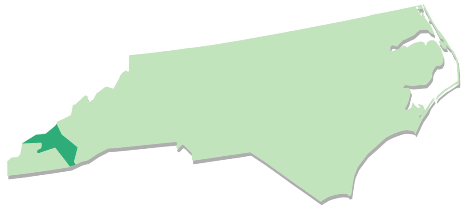 EBCI map