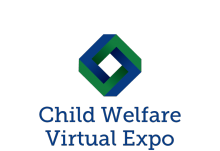 Child Welfare Virual Expo logo